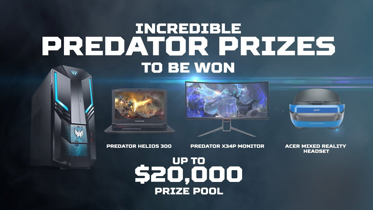 Predator Gaming Intel Extreme Masters 2019 Promotion
