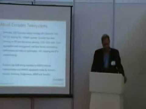Encodex CEO: Presenting at WiMAX Conference 2010 Amsterdam