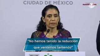 Oliva López, secretaria de Salud de la CDMX, reconoció que en las últimas semanas los hospitalizados se salieron de los parámetros del modelo epidemiológico, y aunque ha sido un periodo corto, confió en que la ciudadanía podría ayudar con que sigan las medidas sanitarias