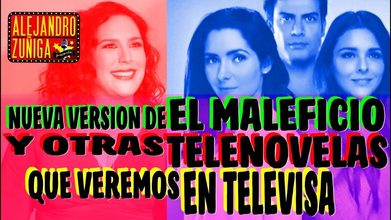 TELENOVELAS QUE VIENEN EN TELEVISA 2018 Y 2019