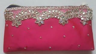Beautiful party pink purse diy