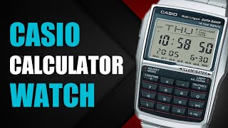 Casio Calculator Watch - Unboxing, Review and How to Use | Databank DBC-32D-1A
