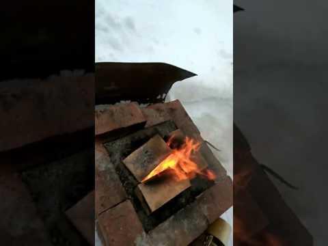 Процесс плавки алюминя
