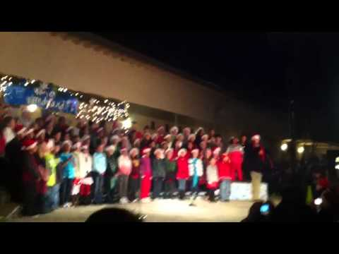 My kids singing at the south Oceanside elementary school Xm