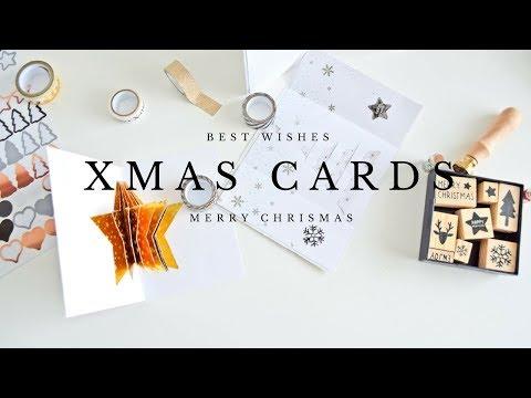 JAK UDEKOROWAĆ KARTKI ŚWIĄTECZNE OD ŚRODKA?  XMAS CARDS