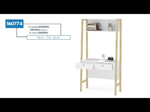 160774 - Kit escritório BAHAMAS (vídeo 360º) | POLITORNO