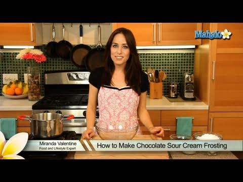 How To Make Chocolate Sour Cream Frosting