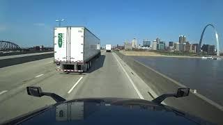 April 2, 2020/154 Trucking entering Missouri St. Louis and Joplin