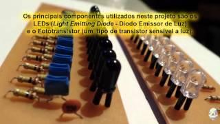 DIY Ballistic Chronograph IR Sensors - Sensor Infravermelho para Cronógrafo Balístico