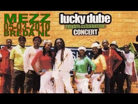 Lucky Dube Tribute Celebration Tour 05-03-2010 Mezz/Breda/NL