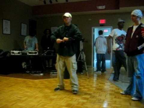 Liquidpop Eric @ Liquid Dance 1x1 Competition in Knoxville, TN (Part 1)