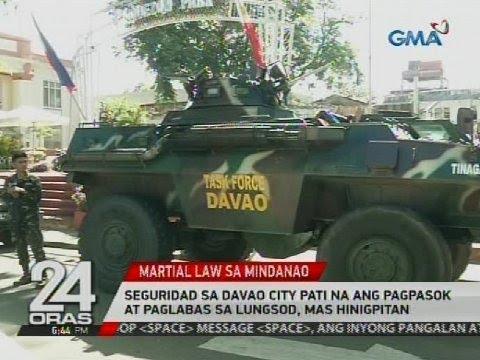 Seguridad sa Davao City pati na ang pagpasok at paglabas sa lungsod, mas hinigpitan