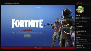 Fortnite servers down how to fix?