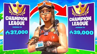2000 Arena Points In A Day With FACECAM! (Fortnite Arena Gameplay) (Arena Highlights)