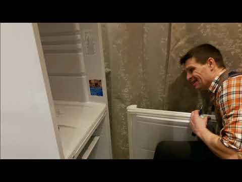 Перенавешиваем дверь холодильника ИНДЕЗИТ.Некоторые особенности.