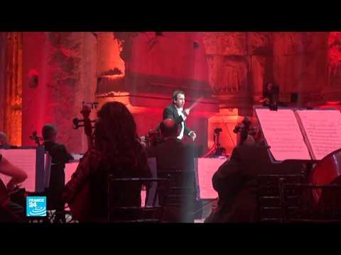 لبنان: أنغام الموسيقى تعلو على أنات الأزمة وشبح كورونا في مهرجانات بعلبك  - 10:59-2020 / 7 / 6