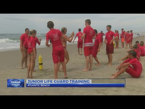 Teens in Atlantic Beach take the plunge as junior lifeguards