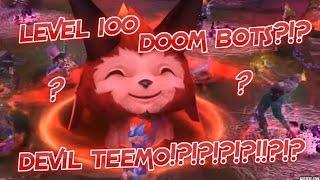 [League of Legends] BEATING LVL 100 DOOMBOTS?!