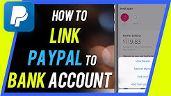 How to Link PayPal to Bank Account