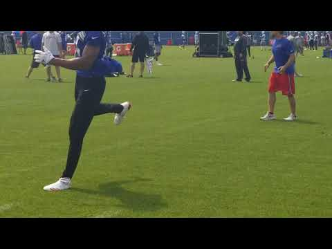 Watch Josh Allen at Buffalo Bills OTAs