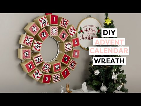 DIY Advent Calendar Wreath - HGTV Handmade