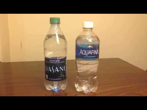 Jon Drinks Water #3783 Dasani VS Aquafina
