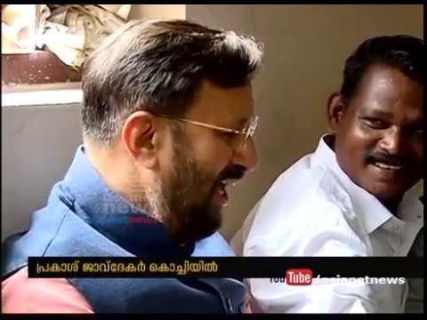Minister Prakash Javadekar visit Kerala