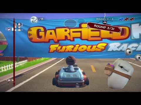 Garfield Kart Furious Racing Game - Codex has won in single race |