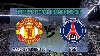 Video Gol Pertandingan Manchester United vs Paris Saint Germain