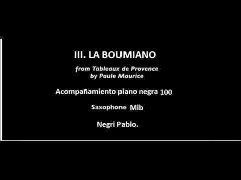 Tableaux de provence III La boumiano pista piano