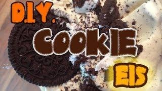 Cookie Eis selber machen wie Ben & Jerry
