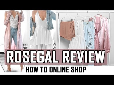 ROSEGAL REVIEW // how to online shop // SUMMER MUST-HAVE'S UNDER $24 // Unknown cheap clothing store