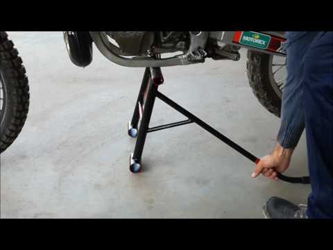 Cavalletto basculante MX (Homemade mx stand)