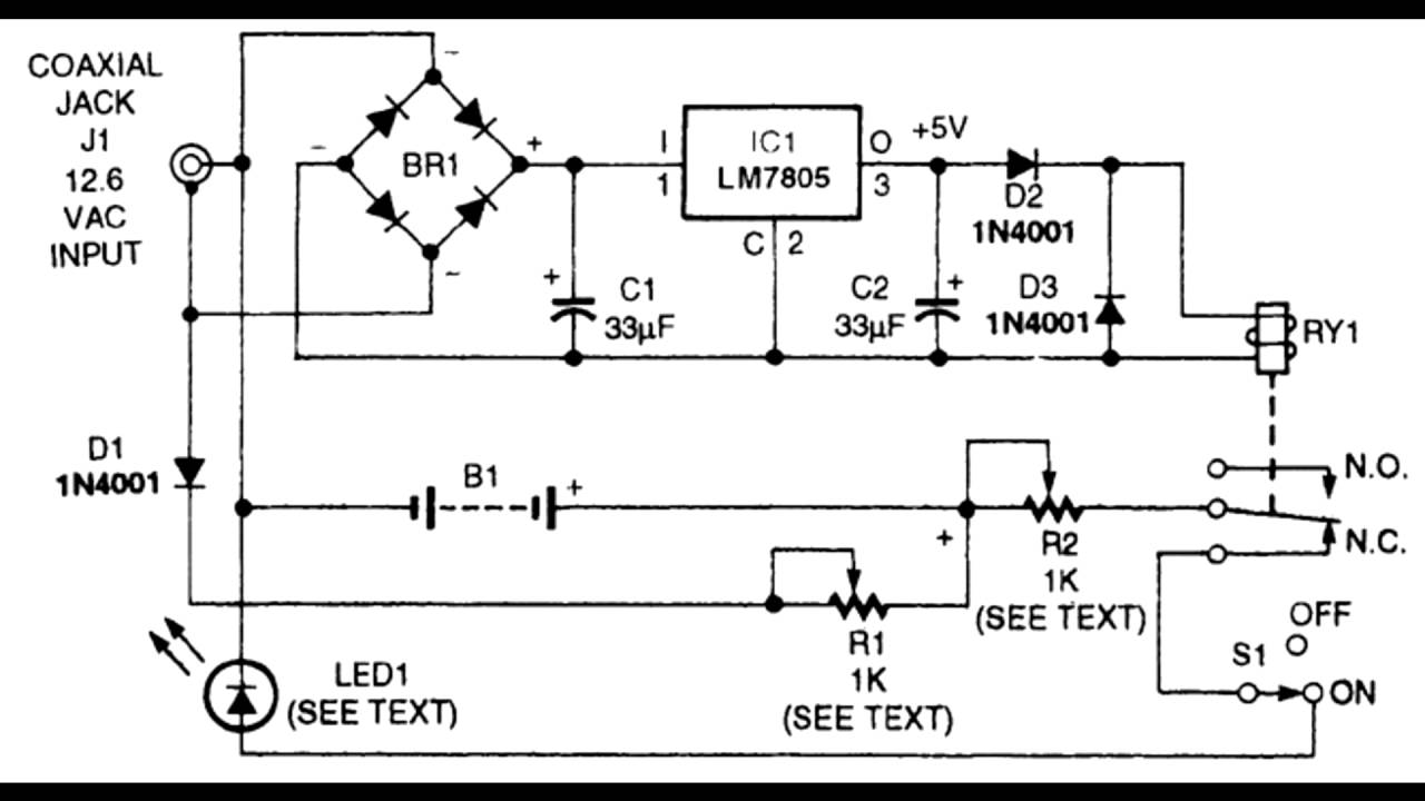 led flashlight diagram 1 youtube rh youtube com Electrical Wiring Diagrams For Dummies LED Floodlight Wiring-Diagram