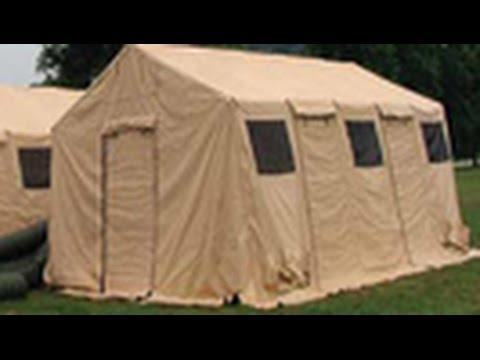 2 HDT Base-X 305 Tents on GovLiquidation.com & 2 HDT Base-X 305 Tents on GovLiquidation.com - YouTube
