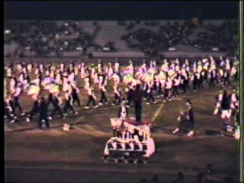 Williamsport Area Marching Band 1986