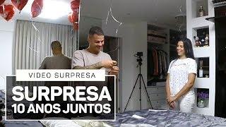 SUPRESA P/ DIEGO 10 ANOS JUNTOS