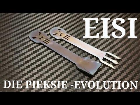 ✔EISI - Die Pieksie-Evolution / Titan Eislöffel / Titan Pommespiekser