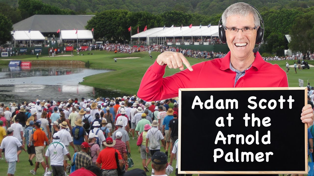 Adam Scott At The 2014 Arnold Palmer Invitational Youtube