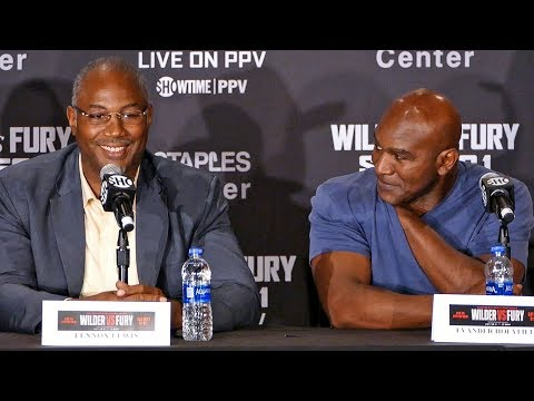 LEGENDS LIVE! Lennox Lewis / Evander Holyfield / Michael Spinks & More! | Wilder vs Fury