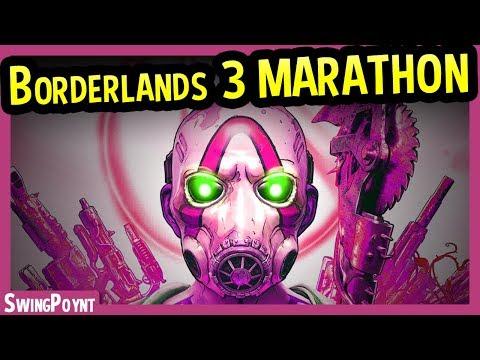 Borderlands 3 - LAUNCH PARTY MARATHON LIVESTREAM - (Borderlands 3 Game Multiplayer With Chat)