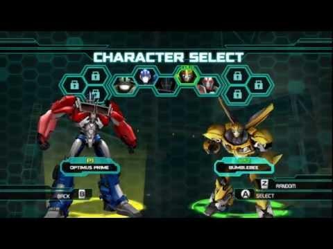 Transformers Prime Optimus Prime Vs Bumblebee (Pc Gaming)