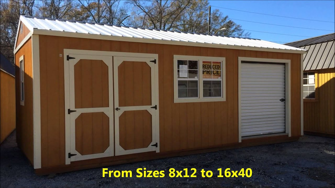 rent to own storage buildings sheds urethane model newnan atlanta and all of georgia - Garden Sheds Georgia