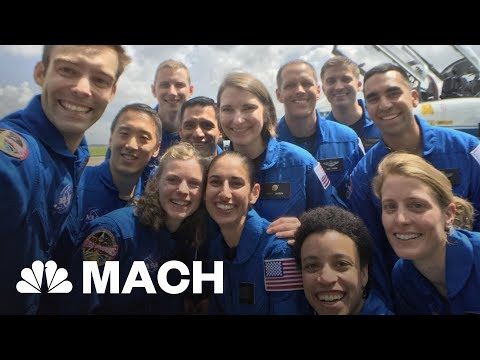 NASA's Newest Group of Astronauts: The Class of 2017 | Mach | NBC News