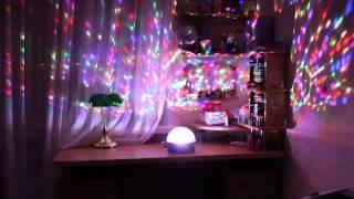Светодиодный диско-шар. Программируемая цветомузыка