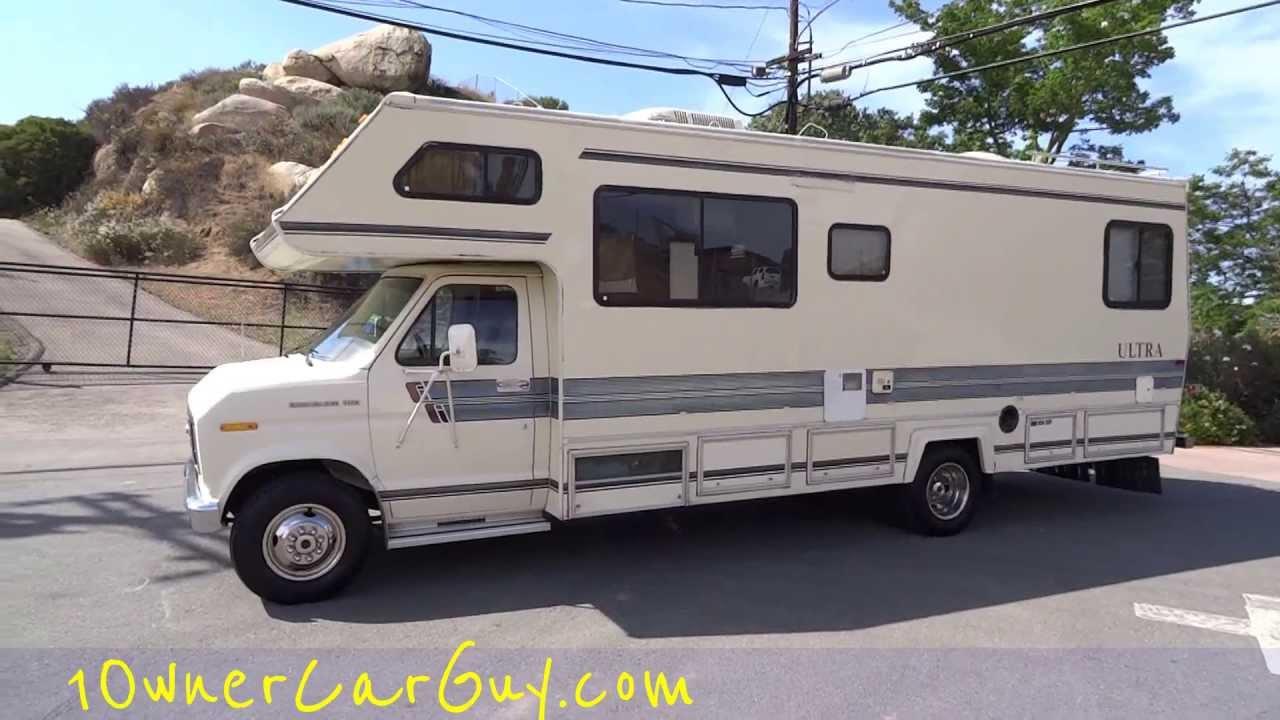 Gulfstream Rv Motorhome Camper Ultra Coach Ford Econoline