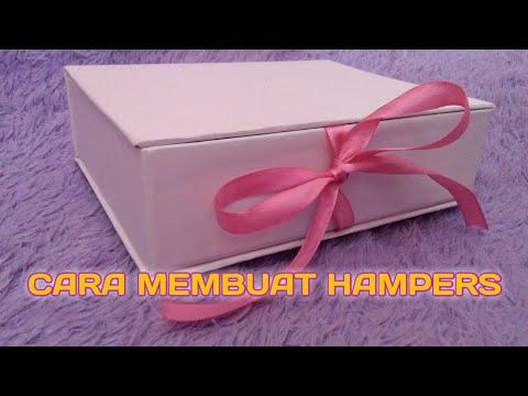 DIY Gift Box | Cara Membuat Hampers