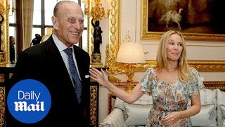 Kylie Minogue wooed by 'charm personified' Duke of Edinburgh - Daily Mail