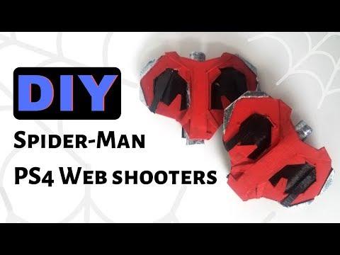 Spider-Man PS4 Web Shooters | Cardboard DIY
