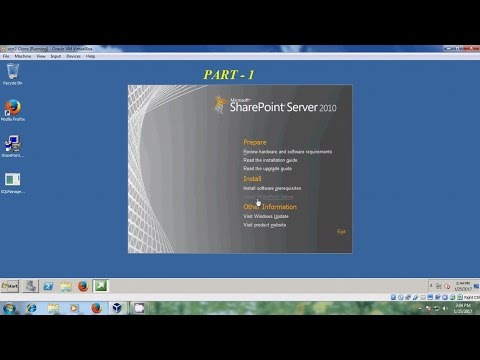 Server 2008 - Installation And Configuration Of SharePoint In Windows Server 2008 - Part 1